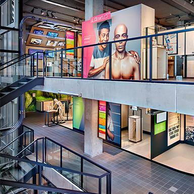 Een warenhuis van communicatie